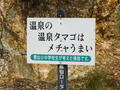 [九州]雲仙地獄のベタな標語