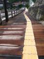[九州]熱で焦げた橋