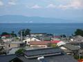 [九州]島原城から有明海を