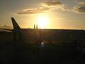 [九州]長崎空港の夕日