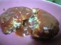今日の晩御飯は高野豆腐をすりおろして粉にしたものと、お豆腐、ちょ
