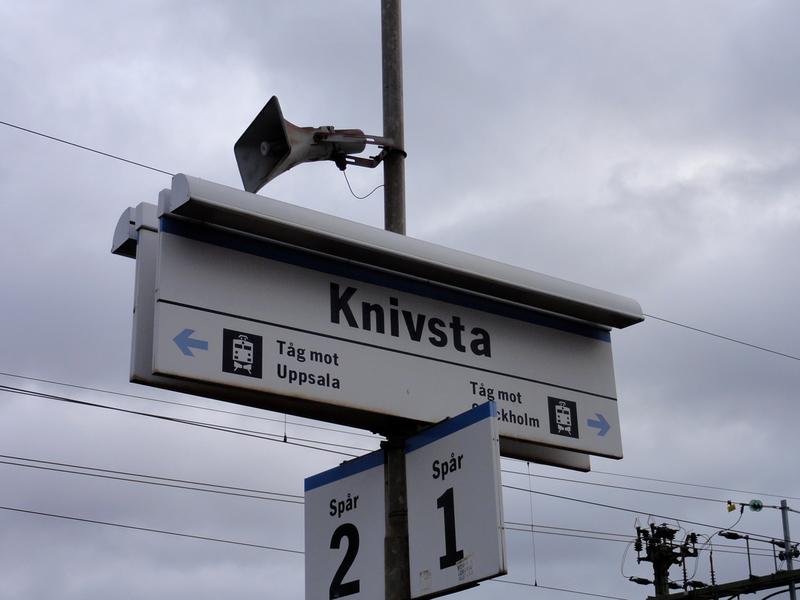 Knivsta Station, Uppsala 2010.10.28