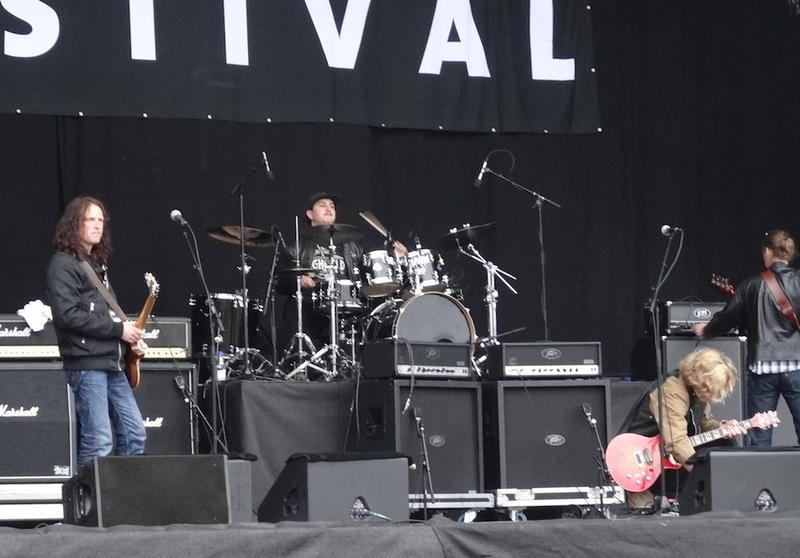 The Flower Kings rehearsal, Sweden Rock Festival 2012.06.08.