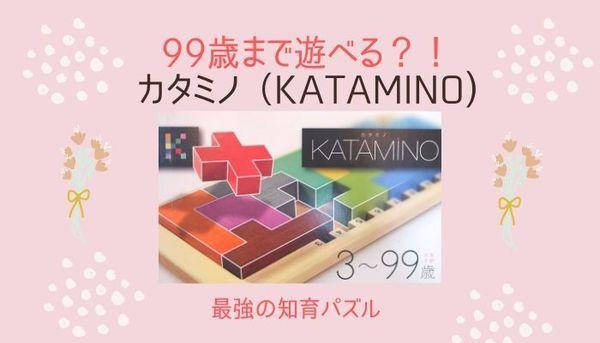 【カタミノKATAMINO遊び方】最強のおすすめ知育パズル