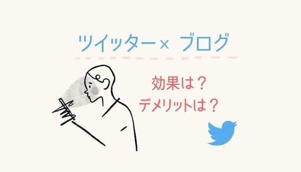 【ツイッター×ブログ】フォロワーやアクセスは増える?デメリットと注意
