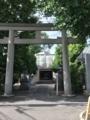 石鳥居[勝利八幡神社]