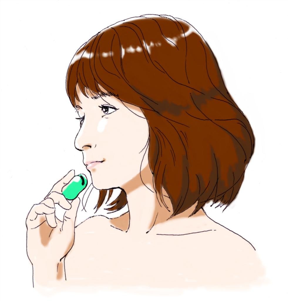 イラスト 石田ゆり子