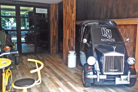 Nonze Hostel玄関