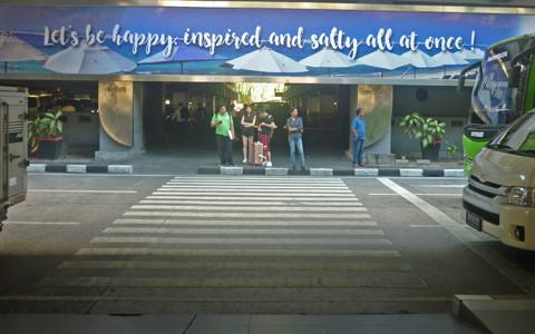 空港駐車場の写真