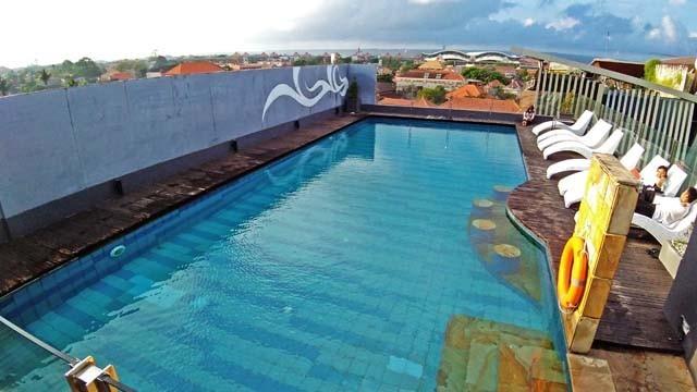 Jブティックホテルのプール