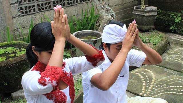 バリ島の宗教バリヒンドゥーとの接し方