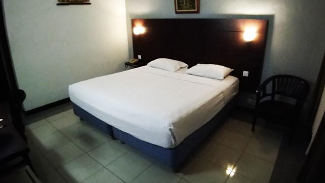 ロサニホテルの部屋