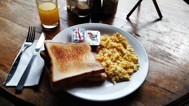 ロサニホテルの朝食