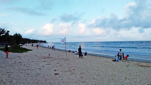 クタビーチの写真