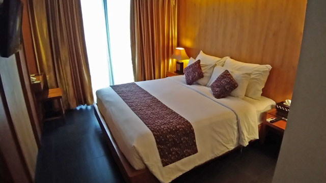 ホテルのお部屋の写真