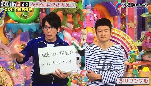 松尾は運動神経悪い芸人のジャージで出演。(笑). アメトーク