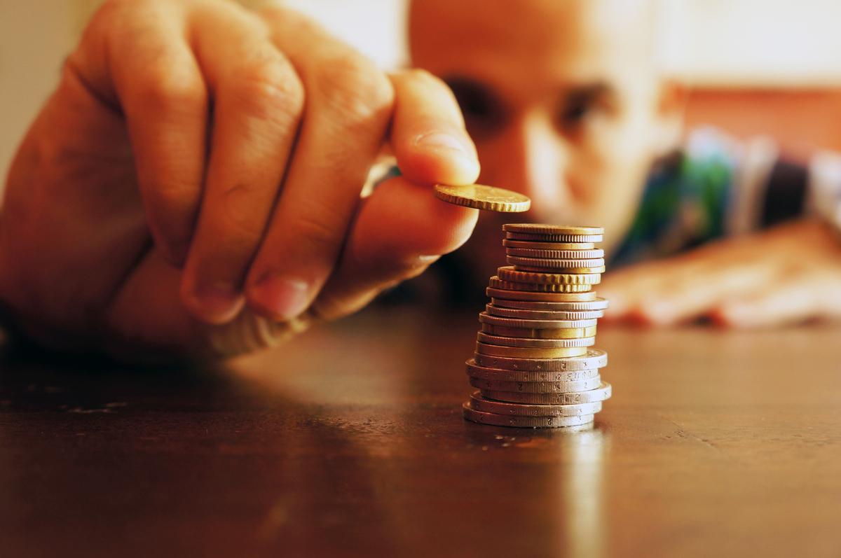 貯金の割合