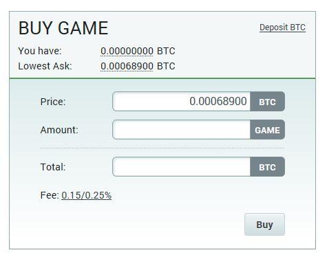 ゲームクレジット(GAME)を購入