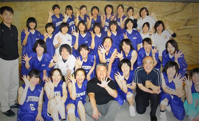 2012順天堂大学女子バスケット部