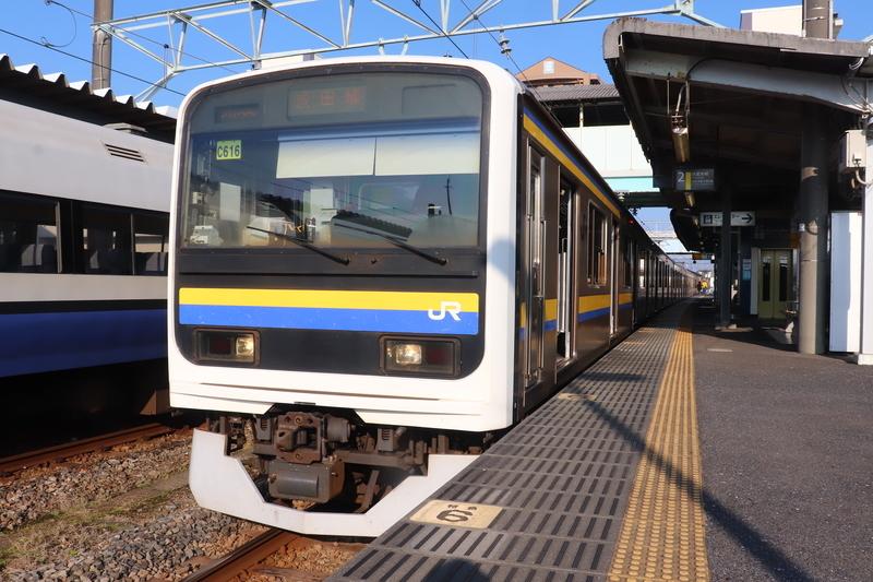 成田線 銚子駅