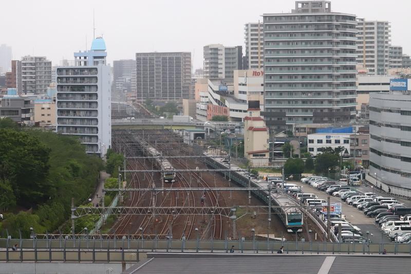 川口の電車の写真