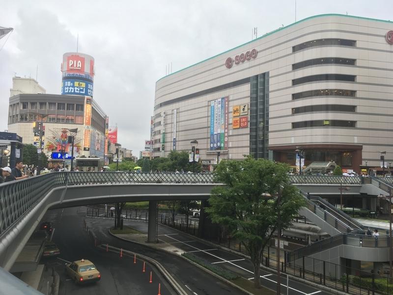 川口駅前の写真
