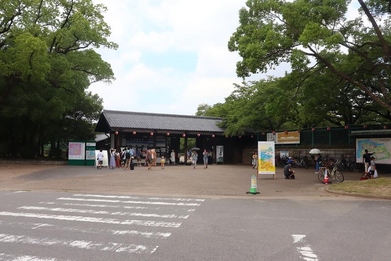 名古屋城入口