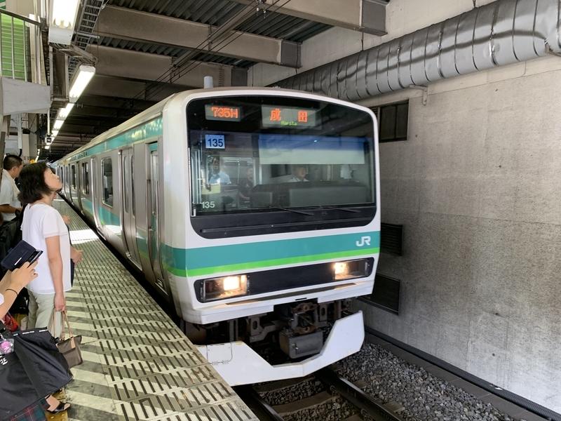 松戸駅 成田線直通