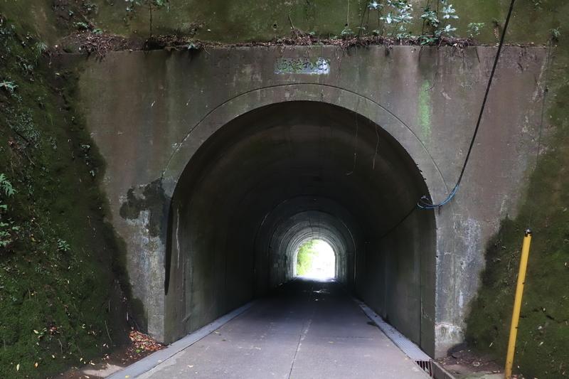 久留里城 トンネル