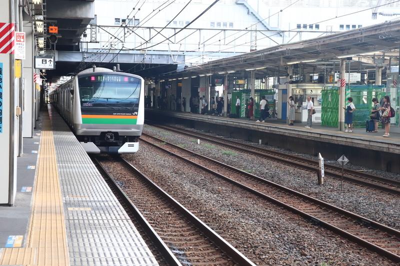 宇都宮線小山駅