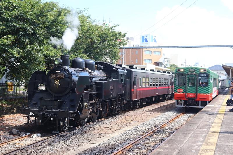 真岡鐵道 SLもおかと普通列車