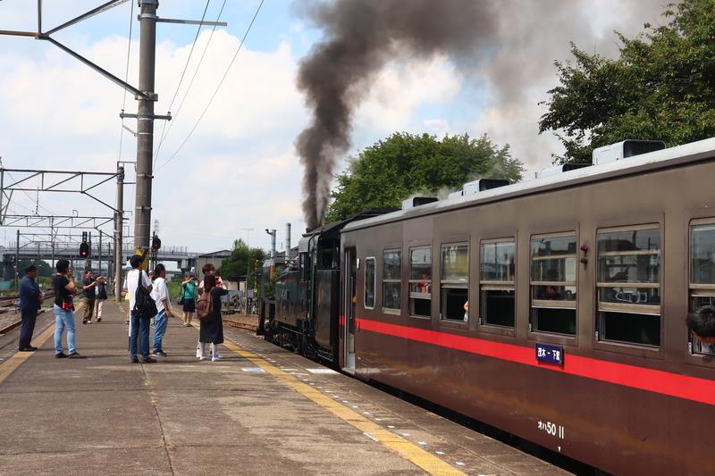 真岡鐵道 SLもおか 客車