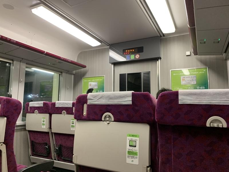 上野東京ライン 快速ラビット グリーン車