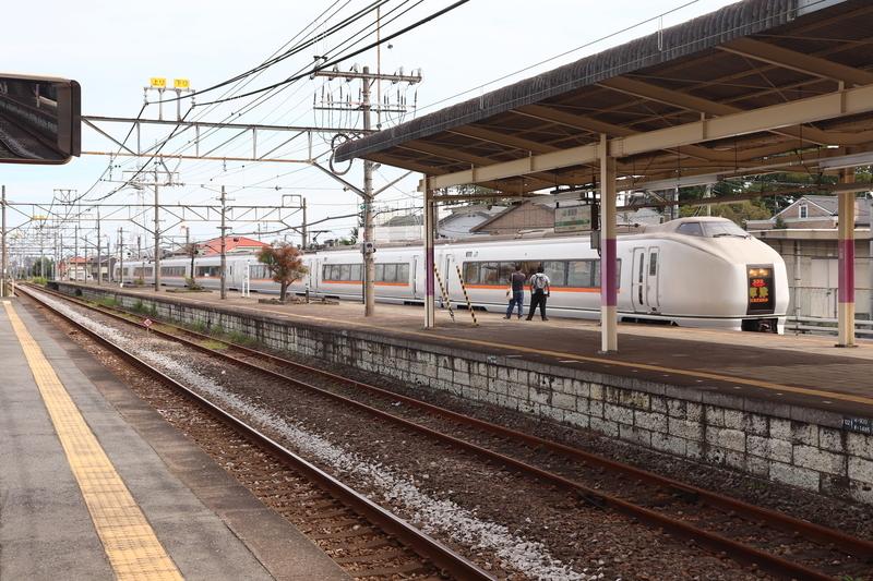 倉賀野駅 特急草津