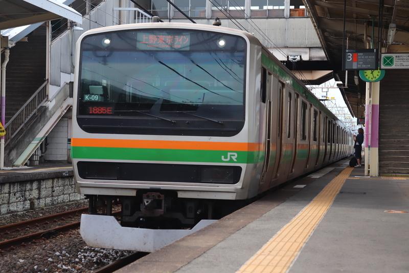 上野東京ライン高崎線 E231系