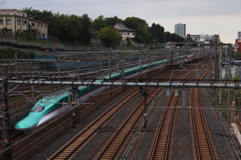 日暮里駅 跨線橋