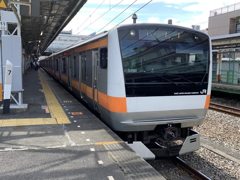 青梅線拝島駅