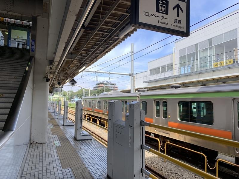 拝島駅 八高線 ホームドア