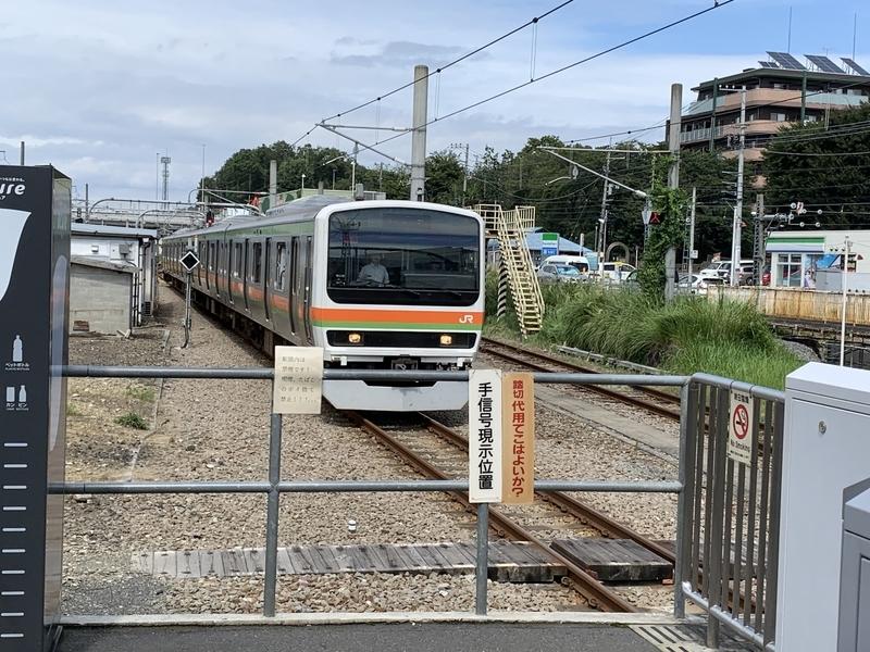 拝島駅 八高線