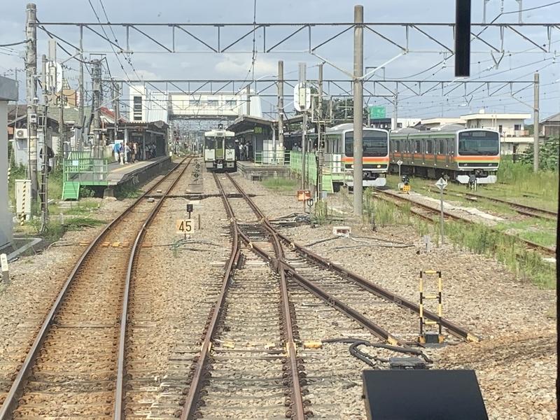 八高線 高麗川駅