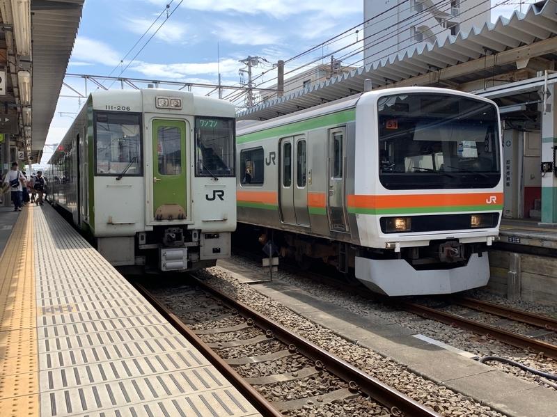 八高線 高麗川駅 キハ110形
