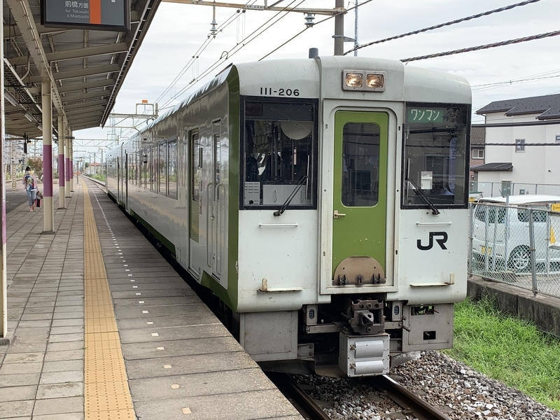 八高線 倉賀野駅
