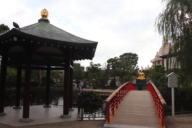 川崎大師 やすらぎの橋