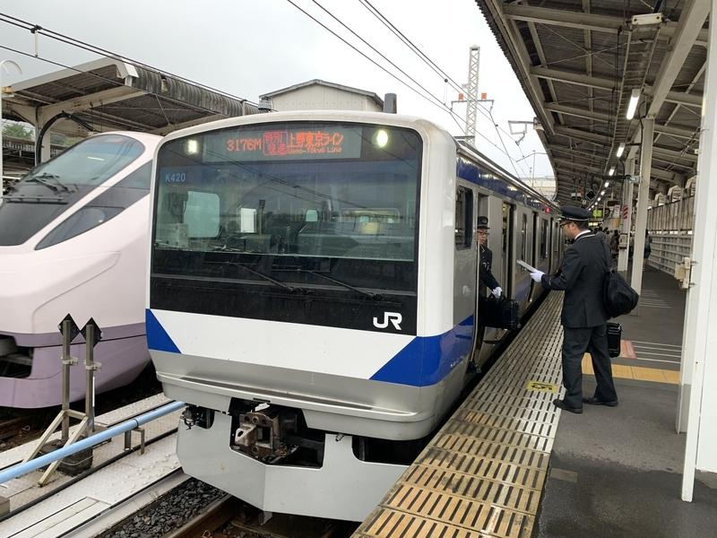 上野東京ライン 上野駅
