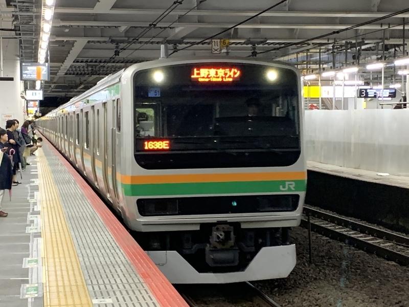 上野東京ライン 川崎駅