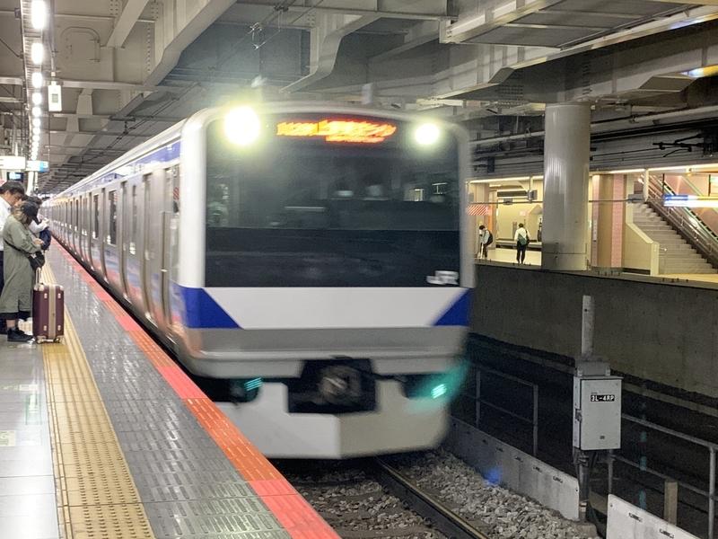 常磐線快速 E531系 北千住駅