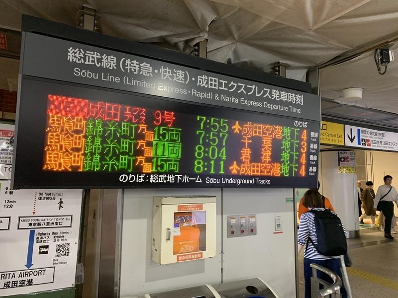 東京駅 総武快速線
