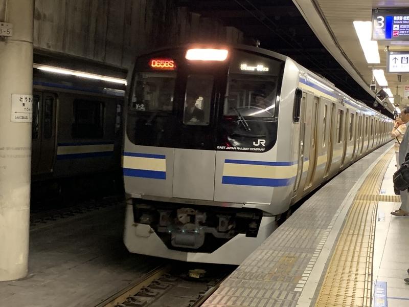 総武快速線 E217系 東京駅