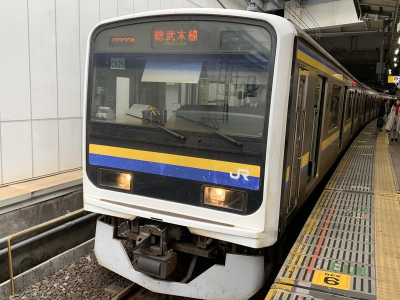 総武本線 209系 千葉駅