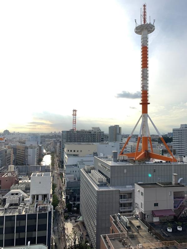 横浜Leaf献血ルーム 景色